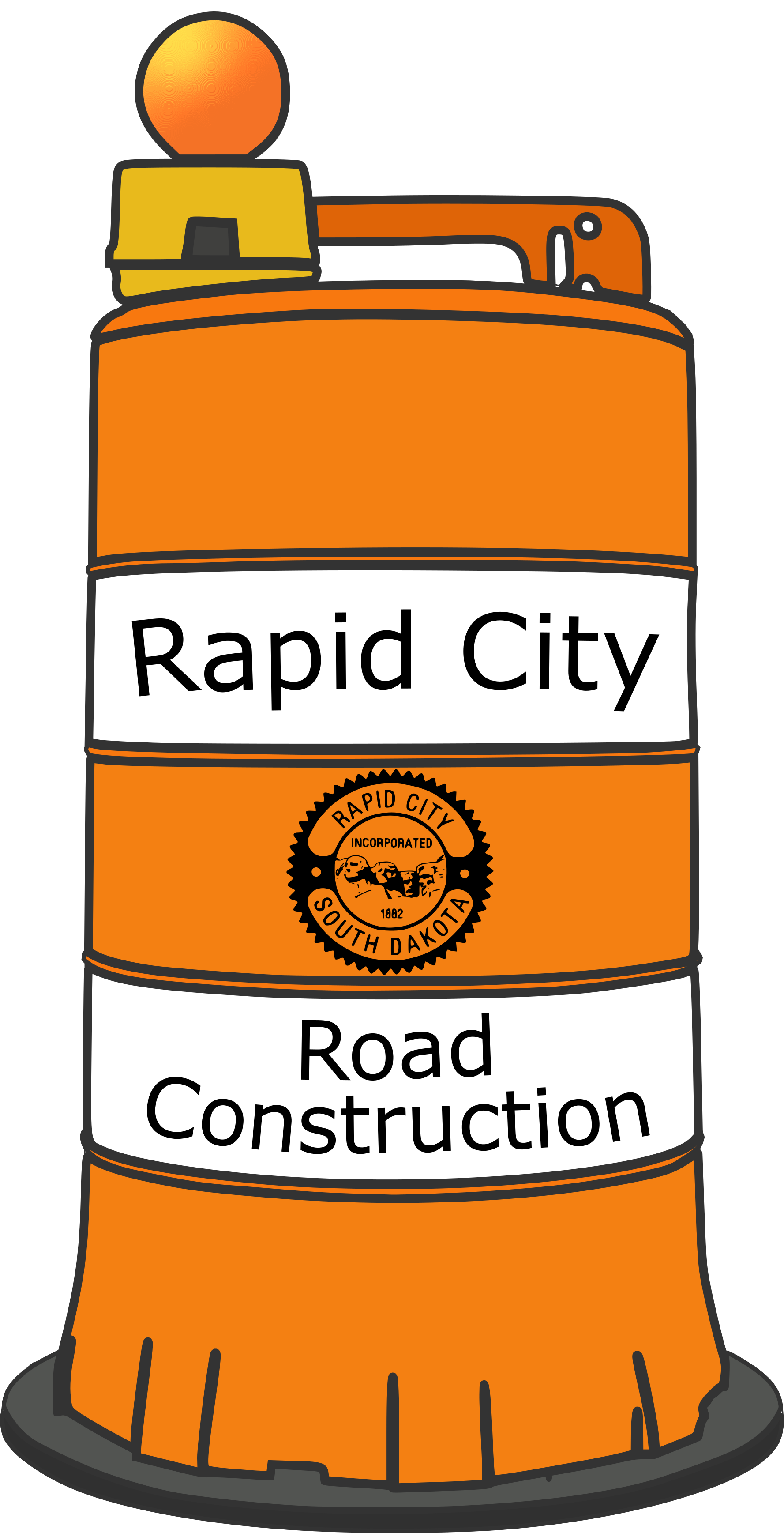 Rapid City Road Construction Map
