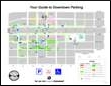 Rapid City downtown parking map