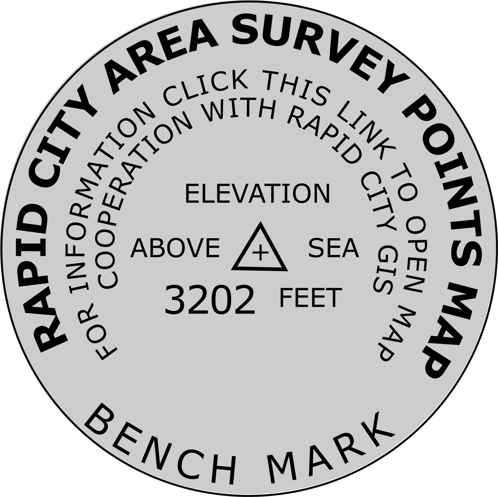 Launch survey points and data grids map application